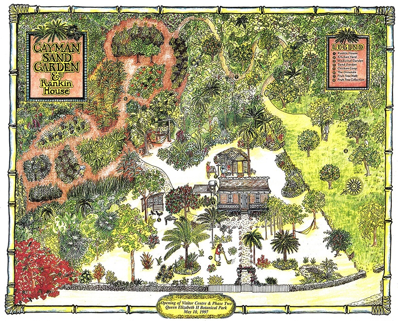 photo regarding Printable Map of Grand Cayman referred to as Queen Elizabeth II Royal Botanic Park The Historical past Back garden